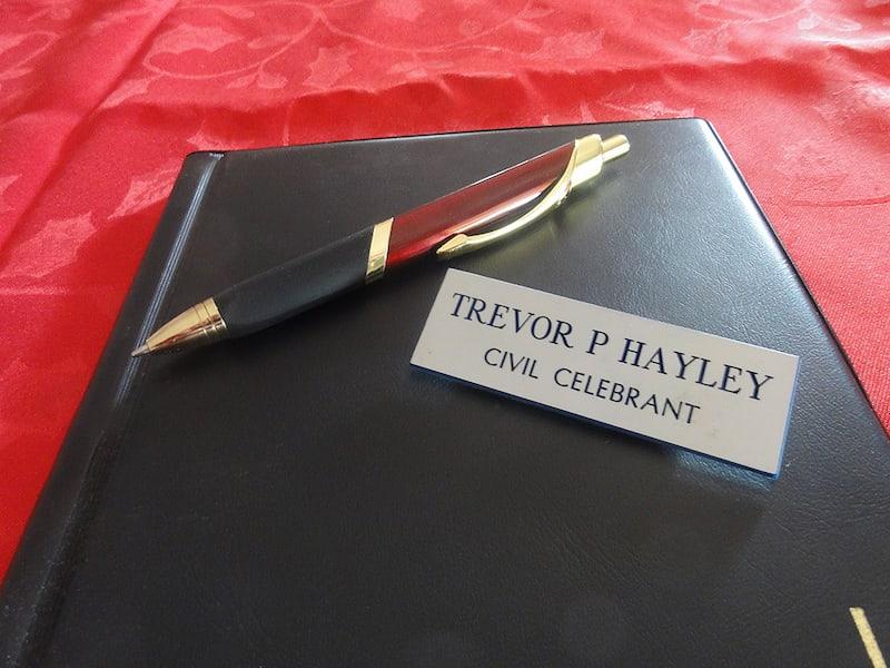 Trevor Hayley Civil Celebrant